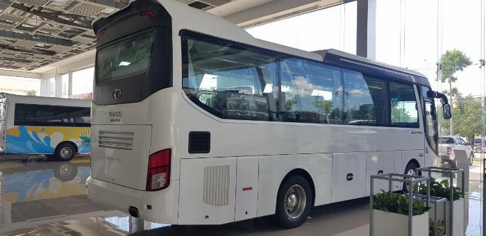 Bán xe 29 chỗ Universer bầu hơi TB85S Euro IV Thaco Trường Hải, Bà Rịa Vũng Tàu