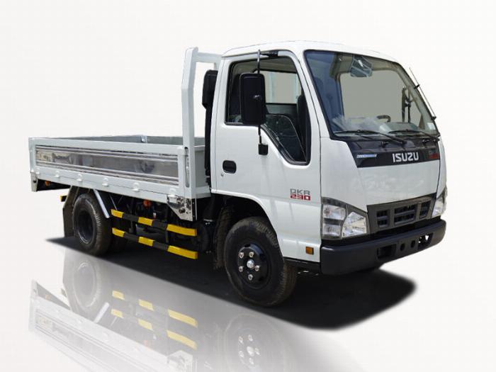 xe tải isuzu 1t4 thùng lững qkr 230 đời 2019