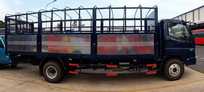 xe tải 7 tấn thùng dài 6,2m THACO OLLIN - động cơ WEICHAI 0