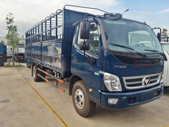 xe tải 7 tấn thùng dài 6,2m THACO OLLIN - động cơ WEICHAI 1