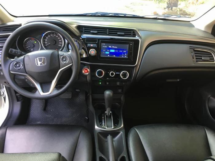 Honda City Trắng cuối 2017 tự động mẫu mới nhất tuyệt đẹp