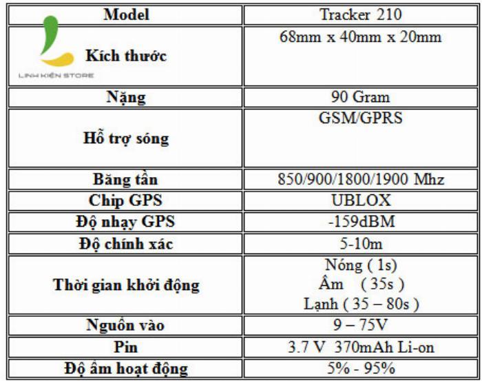 Thiết bị định vị xe máy GPS Tracker LK210 2