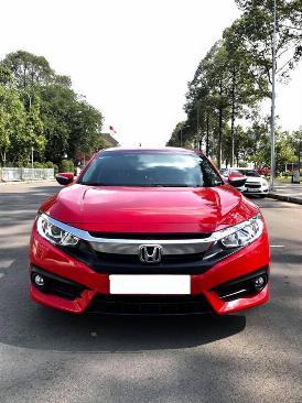 Cần tiền bán Civic 1.8, sản xuất 2018, màu đỏ, nhập thái lan