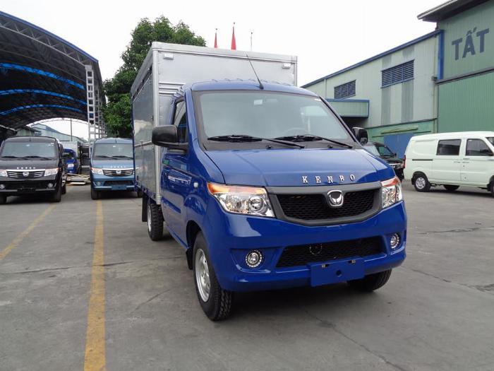 Xe tải kenbo thùng kín cánh dơi 900kg 3