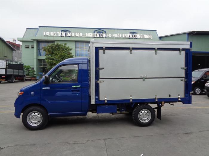 Xe tải kenbo thùng kín cánh dơi 900kg 6