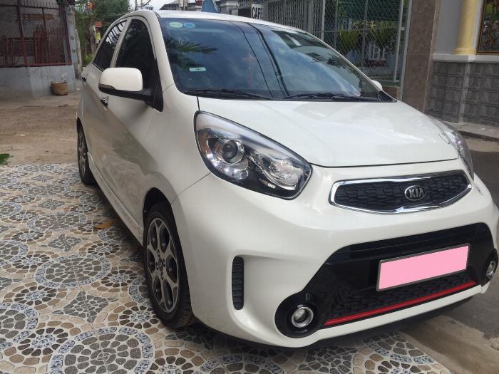Cần bán xe Kia Morning Si 1.25MT 2016 đk 2017 màu trắng biển tp