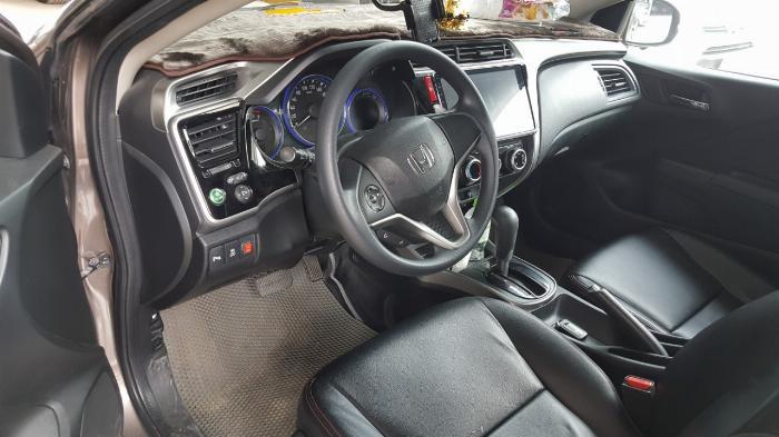 Bán Honda City 1.5AT màu nâu titan số tự động sản xuất 2016 đi 30.000km 8
