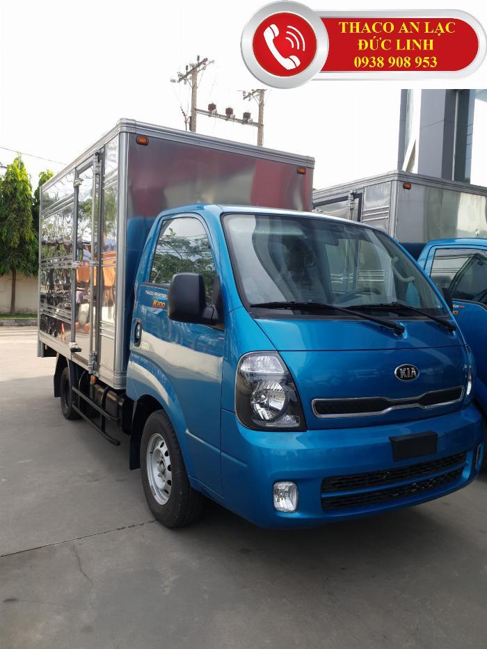 Bán xe tải Thaco Kia K200 2019. Tải trọng 1,9 tấn , động cơ Hyundai (Hàn Quốc), giá 335 triệu.