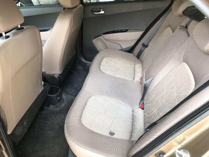 Bán Hyundai Grand i10 sedan 1.2MT màu nâu titan số sàn bản đủ sản xuất 2018 mới 99% 4