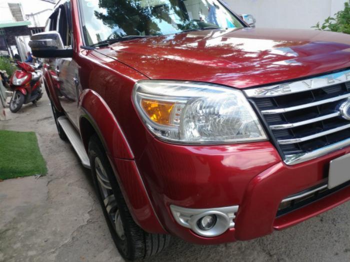 Bán Ford Everest Đỏ 2010 đk 2011 tự động máy dầu rất mới 4