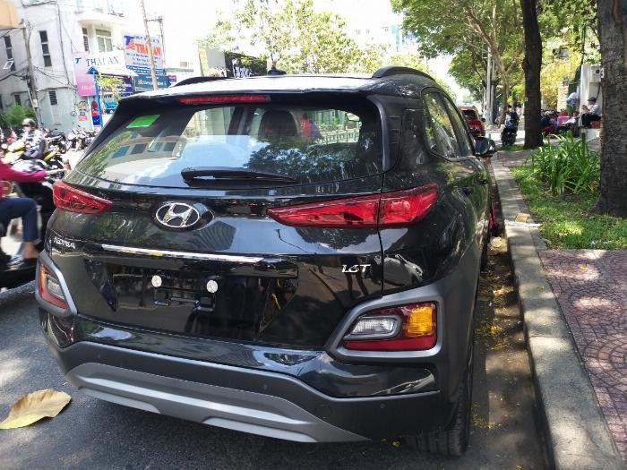 Hyundai Kona Turbo màu đen giá tốt, Hyundai An Phú, Hyundai Kona Turbo, Kona 2019, Xe Hyundai 2
