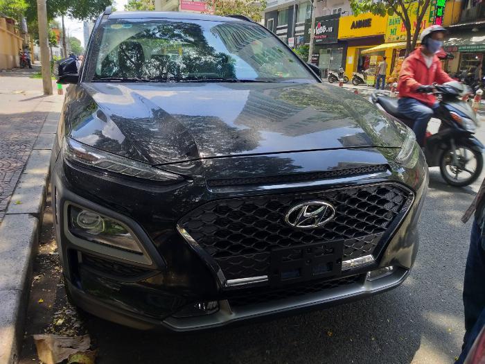 Hyundai Kona Turbo màu đen giá tốt, Hyundai An Phú, Hyundai Kona Turbo, Kona 2019, Xe Hyundai 4