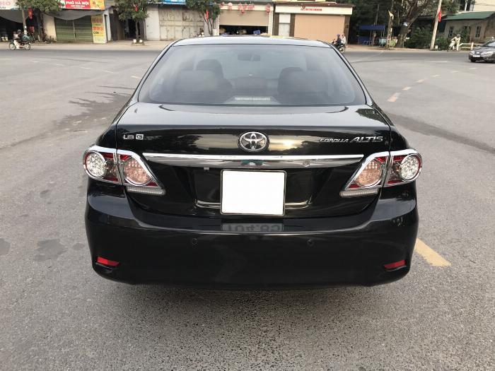 Toyota Corolla altis 1.8G sản xuất năm 2011, màu đen, 1 Chủ Xe Xuất Sắc