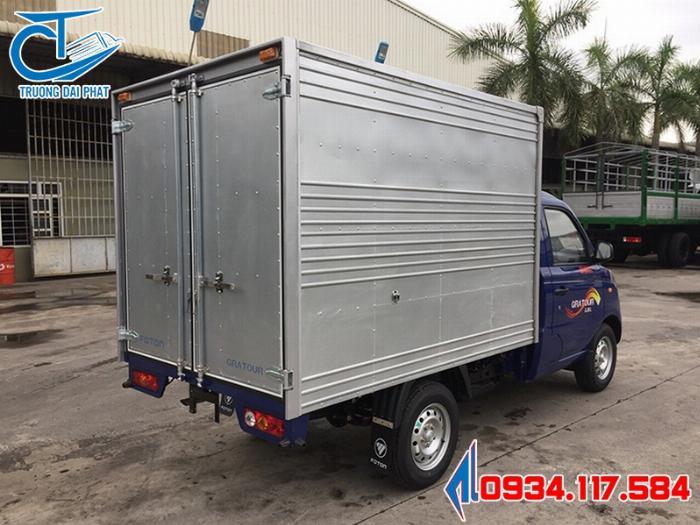 Xe Trường Giang tải nhỏ - Xe tải Foton Gratour 1.5L - Đại lý bán xe tải nhẹ giá tốt 4