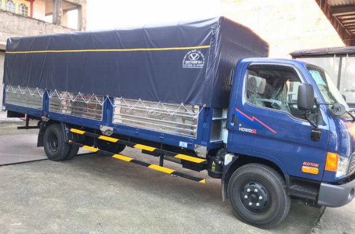 Xe tải HD120SL thùng 6m3 tải 8 tấn