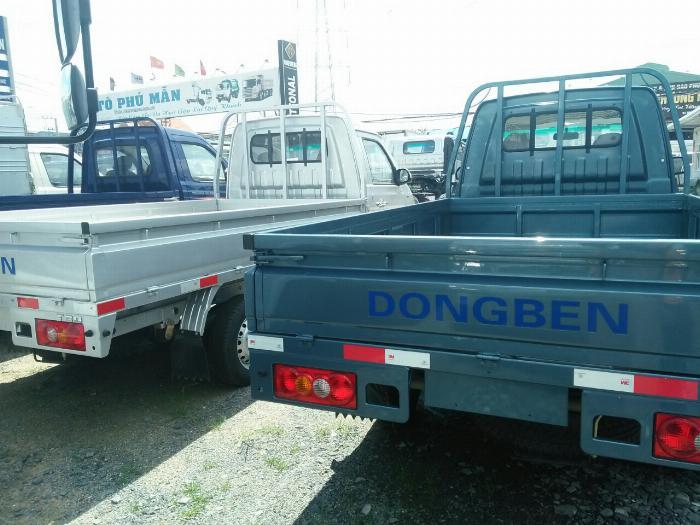 DongBen thùng lửng 1120kg, giá tốt chính hãng 4