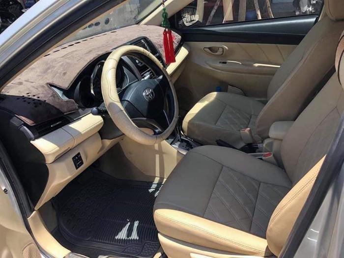 Cần bán xe Toyota Vios 2018 số tự động màu bạc biển thành phố 0