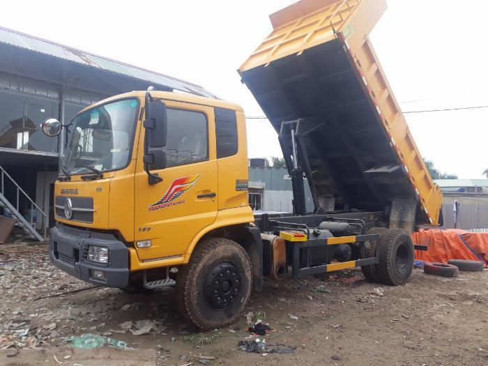 Xe tải ben 8 tấn Dongfeng Hoàng Huy 2