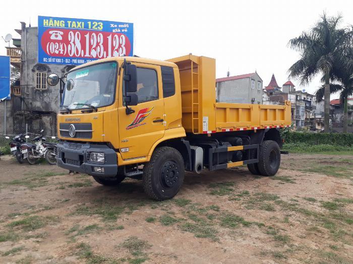Xe tải ben 8 tấn Dongfeng Hoàng Huy 1