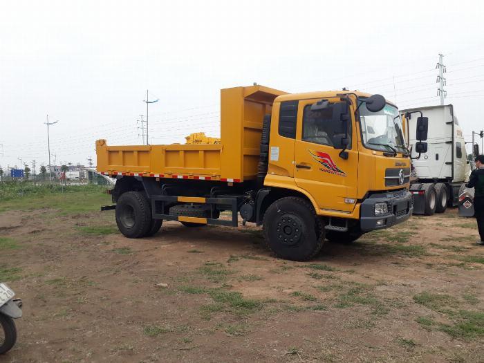 Xe tải ben 8 tấn Dongfeng Hoàng Huy 4