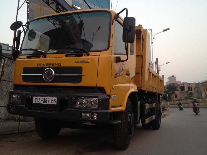 Xe tải ben 8 tấn Dongfeng Hoàng Huy 6