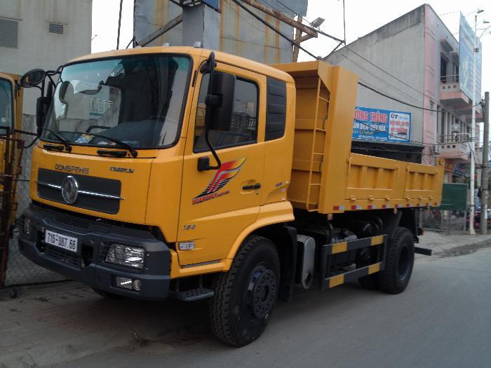 Xe tải ben 8 tấn Dongfeng Hoàng Huy 7