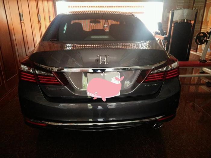 Honda Accord 2018, số tự động, màu xám