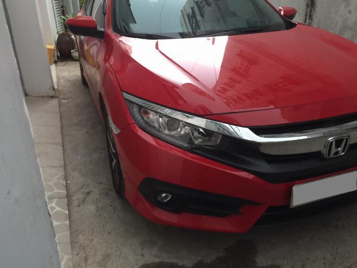 Bán Honda Civic 2018 tự động bảng 1.8 màu đỏ xe gia đình đi kỹ.