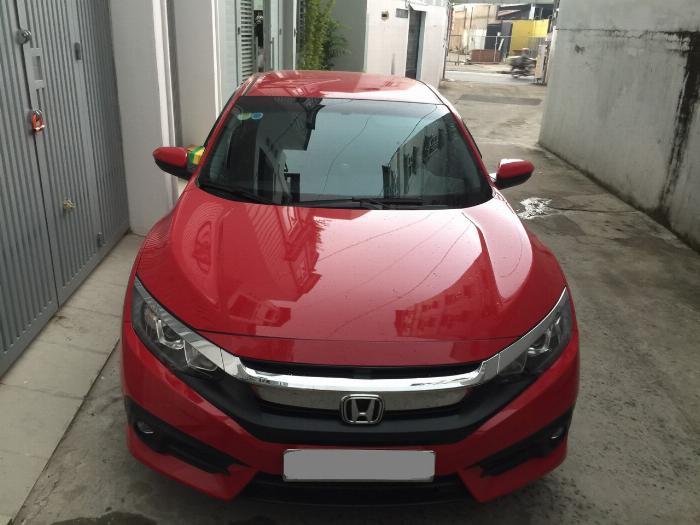 Bán Honda Civic 2018 tự động bảng 1.8 màu đỏ xe gia đình đi kỹ. 6