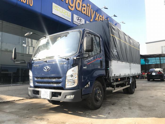 Xe tải ISUZU IZ65 tải 2.4 - 3.5 tấn thùng mui bạt Bửng Nhôm dài 4.3m -Trả Góp 1