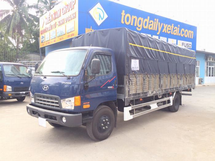 Xe tải HYUNDAI 120SL tải 8 tấn thùng mui bạt dài 6.3m - Trả Góp 1