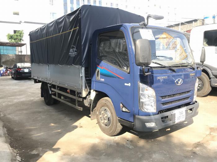 Xe tải ISUZU IZ65 tải 2.4 - 3.5 tấn thùng mui bạt Bửng Nhôm dài 4.3m -Trả Góp 0