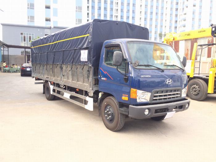 Xe tải HYUNDAI 120SL tải 8 tấn thùng mui bạt dài 6.3m - Trả Góp 5