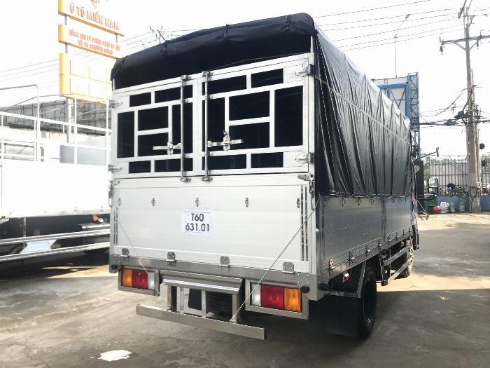 Xe tải ISUZU IZ65 tải 2.4 - 3.5 tấn thùng mui bạt Bửng Nhôm dài 4.3m -Trả Góp 2