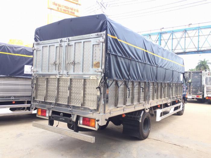 Xe tải HYUNDAI 120SL tải 8 tấn thùng mui bạt dài 6.3m - Trả Góp 2
