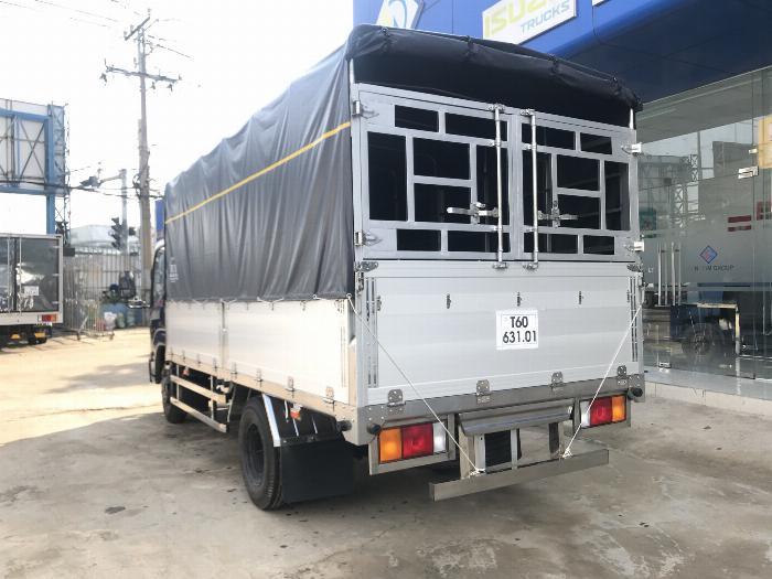 Xe tải ISUZU IZ65 tải 2.4 - 3.5 tấn thùng mui bạt Bửng Nhôm dài 4.3m -Trả Góp 3