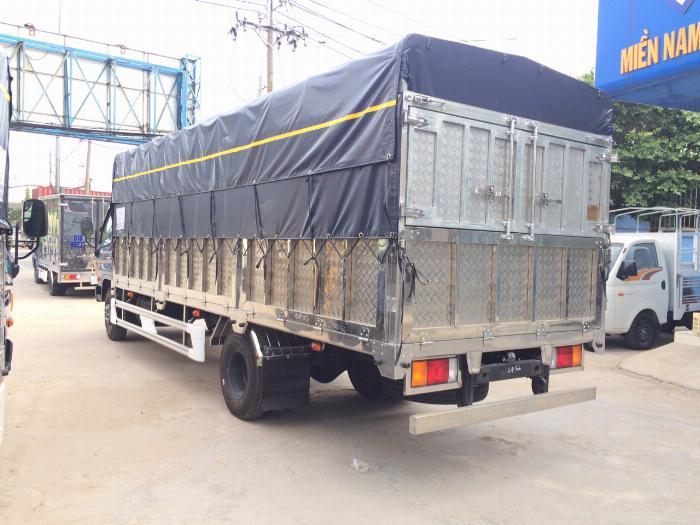Xe tải HYUNDAI 120SL tải 8 tấn thùng mui bạt dài 6.3m - Trả Góp 3