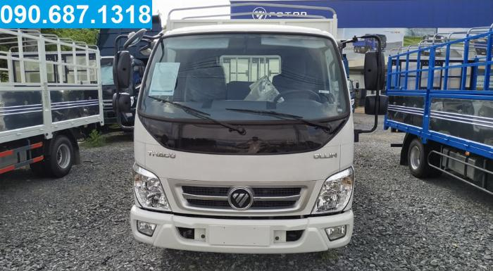 Bán xe tải Thaco Ollin350.e4 thùng dài 4m3 tải trọng 3.5 tấn Long An 0