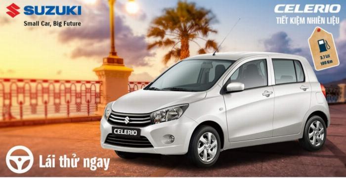 Suzuki Celerio - Xe nhập khẩu, giá tốt nhất phân khúc, tiết kiệm nhiên liệu 3.7 L/100km 2