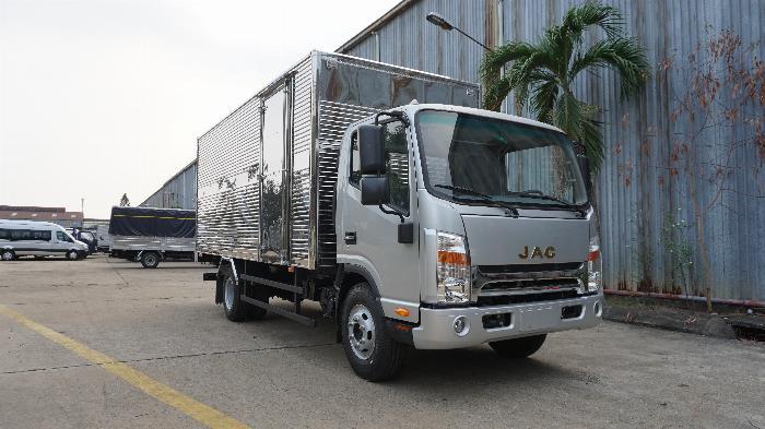 xe tải JAC 6t5 thùng dài 5.3m, tặng hộp đen, hỗ trợ trả góp lãi ưu đãi 0