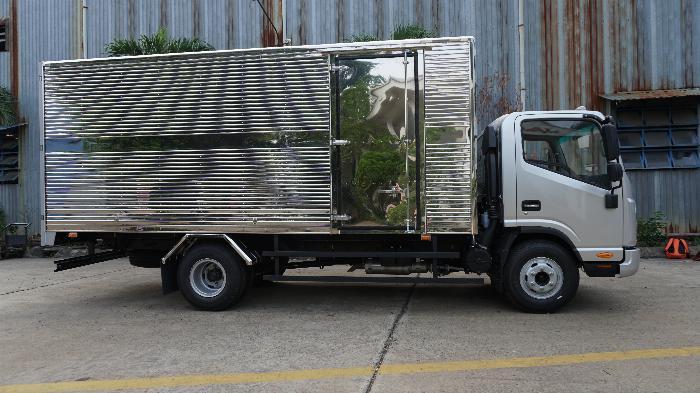 xe tải JAC 6t5 thùng dài 5.3m, tặng hộp đen, hỗ trợ trả góp lãi ưu đãi 1