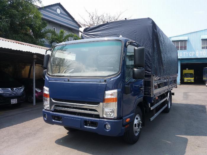 xe tải JAC 6t5 thùng dài 5.3m, tặng hộp đen, hỗ trợ trả góp lãi ưu đãi 5
