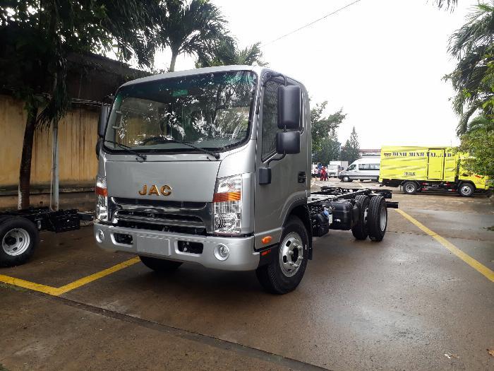 xe tải JAC 6t5 thùng dài 5.3m, tặng hộp đen, hỗ trợ trả góp lãi ưu đãi 6