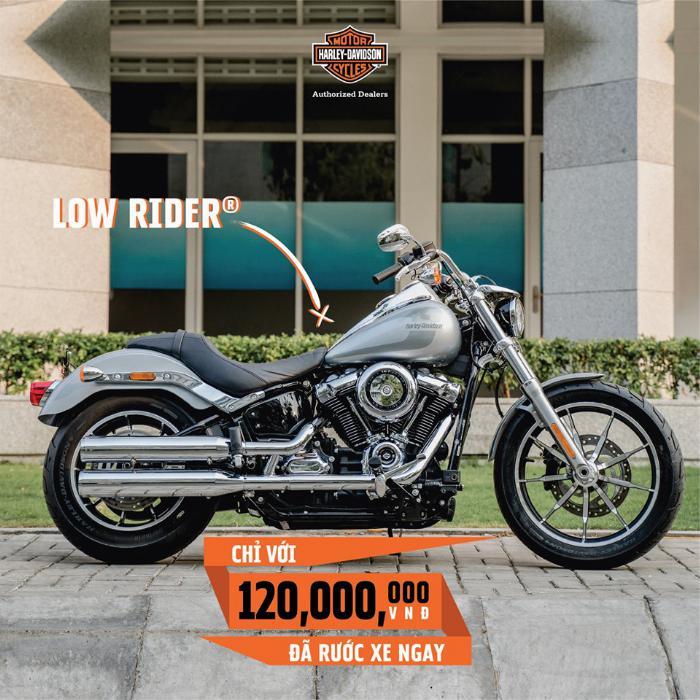 Harley Davidson Low Rider 1746cc Chính Hãng 100% 0