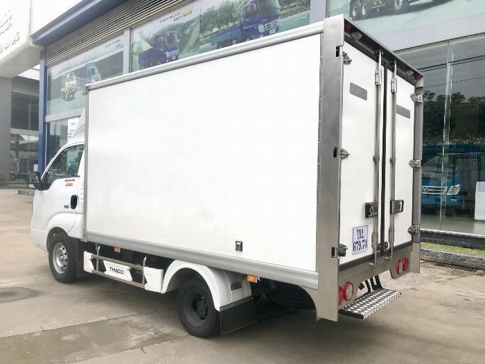 Xe tải Đông Lạnh KIA K200 tải 1,49 tấn chạy hẻm Sài Gòn 3