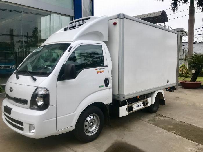 Xe tải Đông Lạnh KIA K200 tải 1,49 tấn chạy hẻm Sài Gòn 2