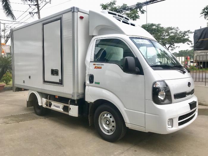 Xe tải Đông Lạnh KIA K200 tải 1,49 tấn chạy hẻm Sài Gòn 5