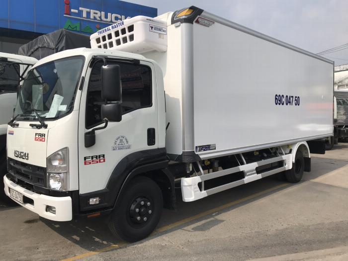 Bán xe Isuzu Nhật Bản 6.2 tấn, đời 2019, hỗ trợ trả góp 0