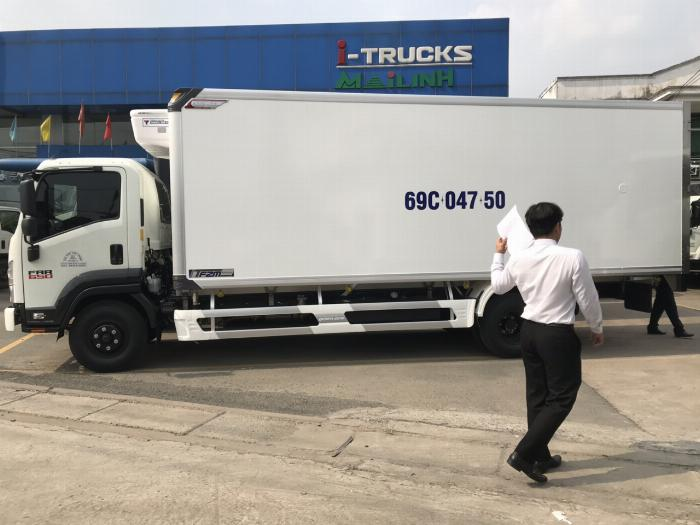Bán xe Isuzu Nhật Bản 6.2 tấn, đời 2019, hỗ trợ trả góp 1