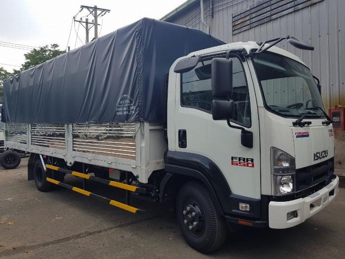 Bán xe Isuzu Nhật Bản 6.2 tấn, đời 2019, hỗ trợ trả góp 4